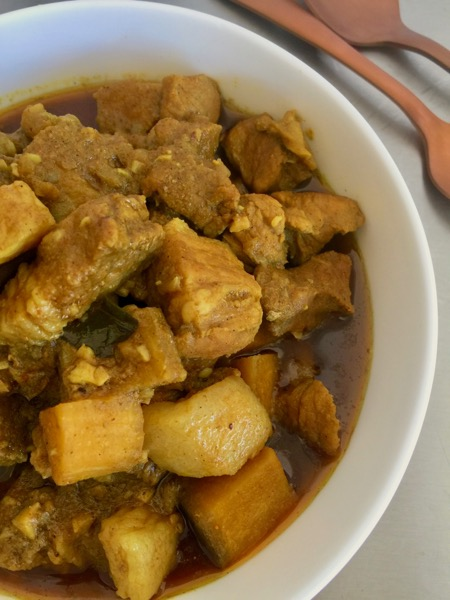 Kerala Style Spicy Pork Curry